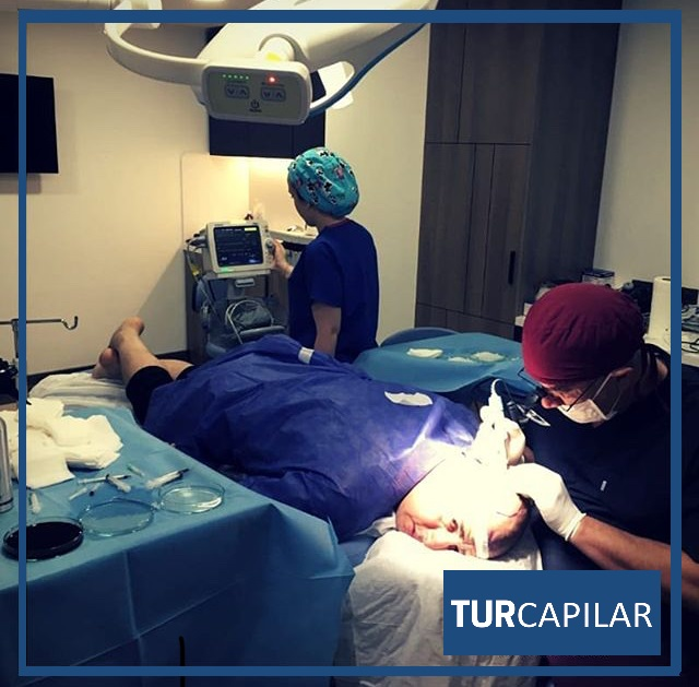 anestesia indolora trasplante capilar